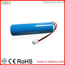 Low internal impendence 3.7v 1200mah cr18650 li-ion rechargeable battery