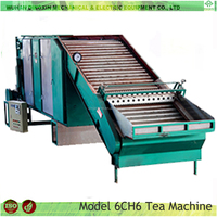Continuous Low Cost CH-6 Green Grinder Black Leaf processing equipment