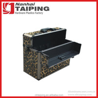 Leopard Aluminum Tool Briefcase Laptop Case Hard Shell Briefcase