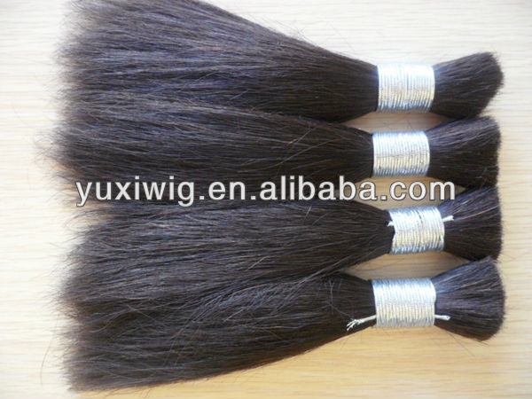 Wholesale cheap Indian human remy hair bulk body wave