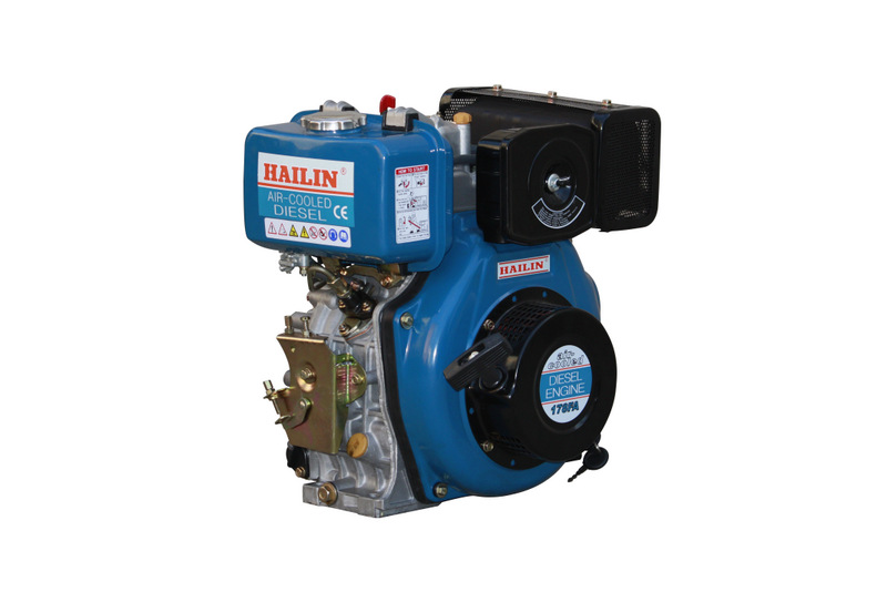 Diesel fuel and automobile water pump generator usage 13hp diesel engine