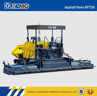 XCMG official manufacturer RP756 asphalt concrete paver for sale