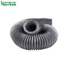 HVAC air conditioner ventilation PVC spiral flexible air hose duct pipe
