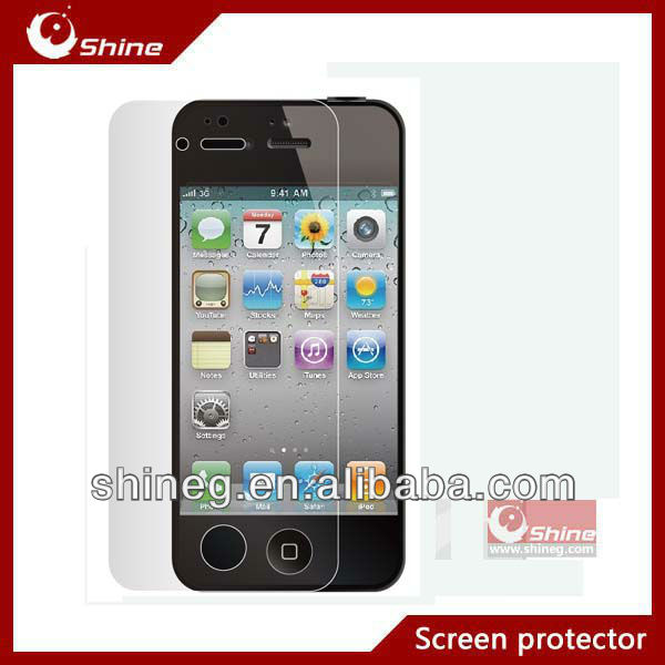High Quality Screen Protector for iphone 5S screen protector