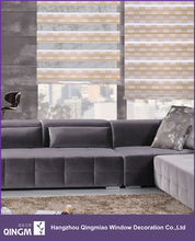 Window Roll Up Fabric Sun Shade Gradient Colors Screen Window Curtain