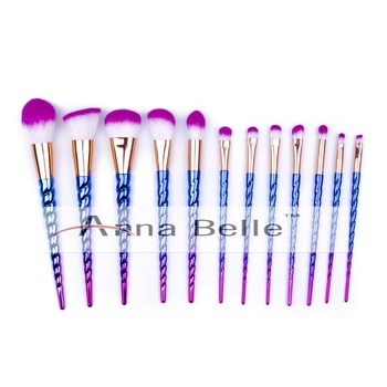 rainbow makeup brush kit unicorn makeup brushes