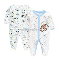 hot sale comfortable soft cotton custom lovely monkey and vivid dog pattern kid fashion