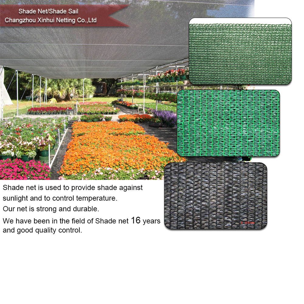 export high quality Plastic Greenhouse sun shading net
