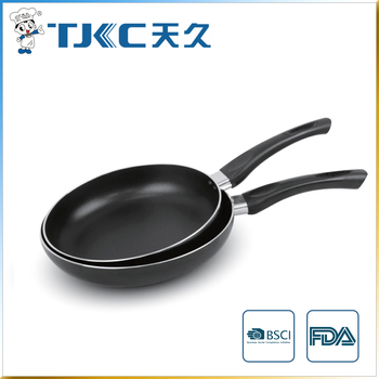 Black Non-stick Fry Pan with Popular handle