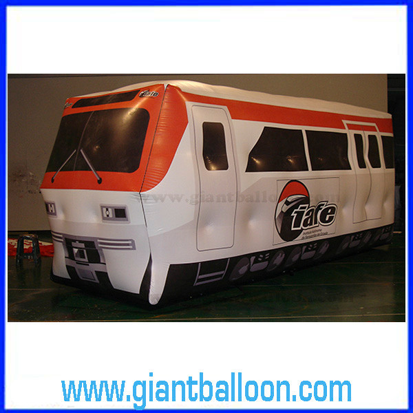 Helium Cartoon Train / Inflatable Train Dummy