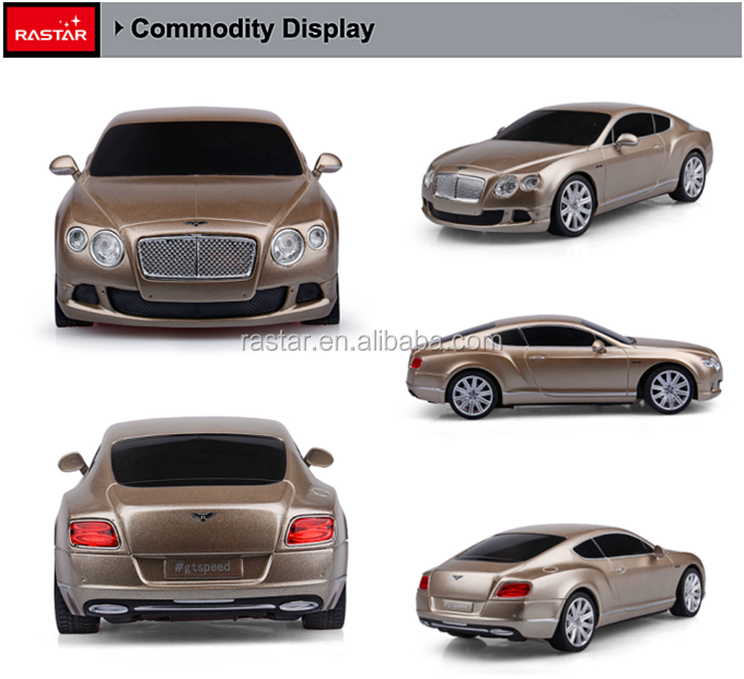 RASTAR Bentley GT speed rc car with remote control toys for child