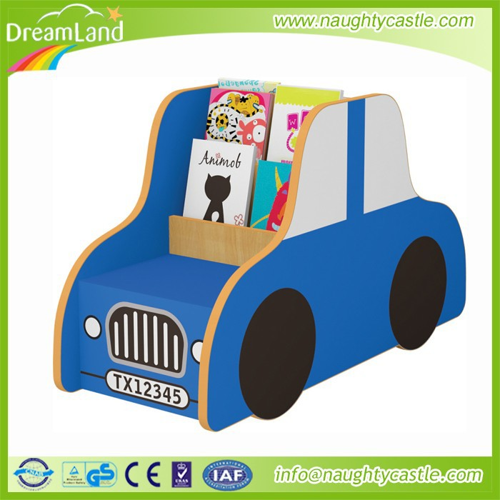 The Car Shape wooden furniture kids Bookshelf for sale