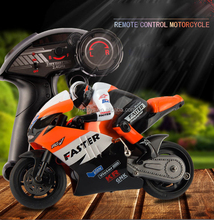 Rc speed motorcycle racer for kids 1:10 rc motorcycle