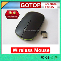 Slim wireless mouse hot laptop computer 2.4G wireless mouse optical mouse