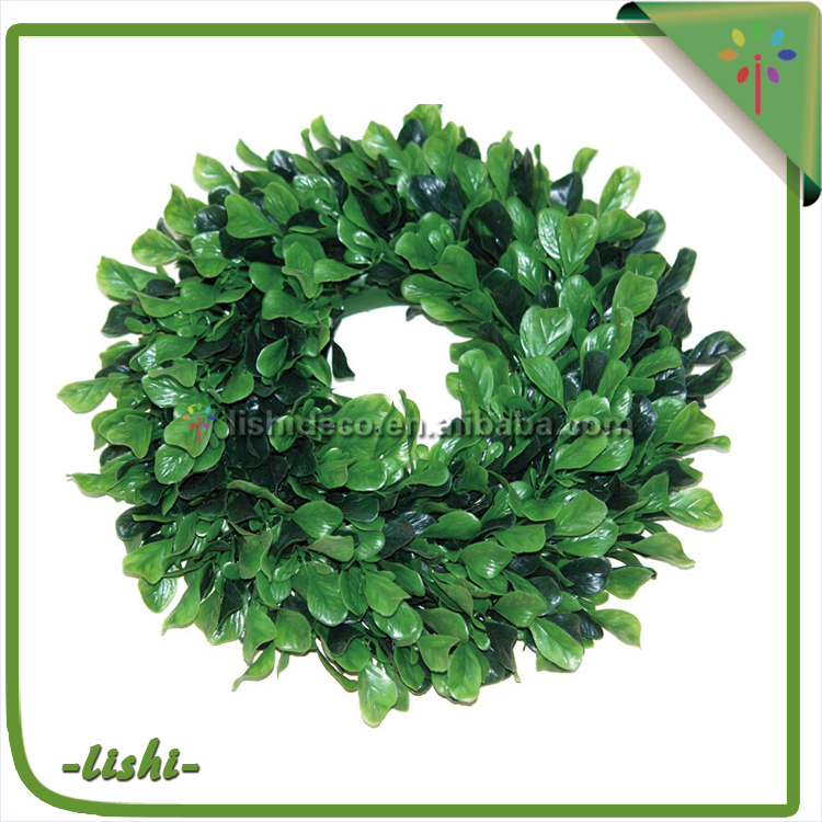 China factory directly Practical Promotional artificial wedding flower wreaths for sale