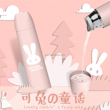 News 2018 Lovely Rabbit design vacuum insulated water bottle