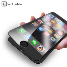Cafele Design Ultra-clear High Definition 4D Tempered Glass Screen Protector for iPhone 7/7Plus