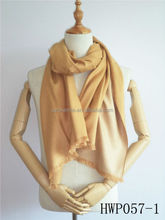 Classic solid colour winter scarf Silk shawls lady scarves