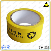 Electronic BOPP static area use plastic warning tape