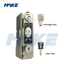 Coin Operated Metal Combination Locker Lock
