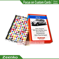 E130 Standard size or custom 70x121mm special size cards hand and foot card game rules game card