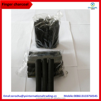 100% Natural Quality Finger Shape Shisha Charcoal Wholesale Buyers