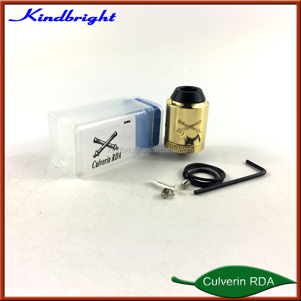 Newest&Hottest!!!2018 Kindbright new atomizer Culverin RDA/BAREBONES MECH KIT/Driptech-DS Box mod Kit with high quality in stock