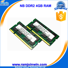ETT chips ram memory price 4gb ddr2 notebook