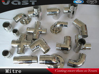 stainless/carbon steel elbow tube/pipe fittings/pipe bend 90 degree/quick connection