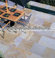 wholesale price rainbow sandstone paving with good quality
