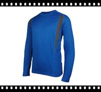 New Design Running Long Sleeve Men's Quick Dry T Shirts