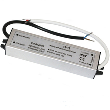 Universal Constant Voltage 12W 12 volt led driver IP67 Waterproof with CE FCC RoHS approval