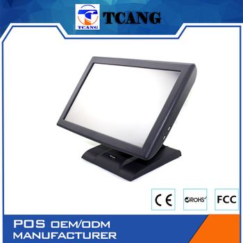 No.1 sales in EU 15 inch business software TOUCH POS Monitor for nightclubs, cafes and restaurants