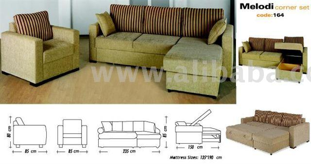 Sectional Corner Sofa By Starline Furniture