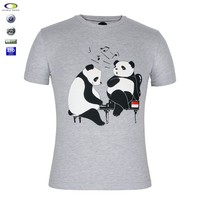 New pattern custom made boys animal printed t-shirt