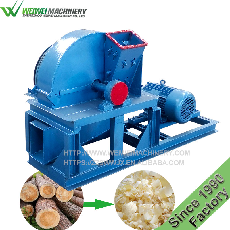 Weiwei 30 years manufacturer tree of heaven wood shaving machine