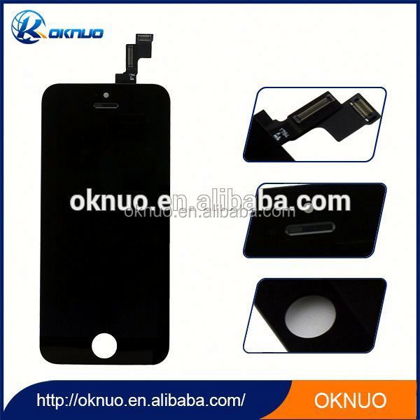 Quality A+++ For iPhone 5 5G LCD Touch Screen Digitizer Assembly Black&White Color LCD Display Complete