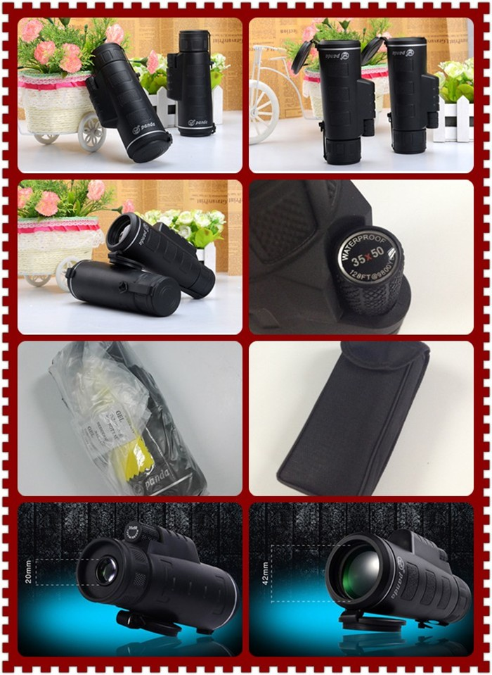10*42 Low-light level (LLL) Monocular Telescope