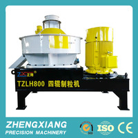 High-quality TZLH800 ring die wood pellet mill for sawdust