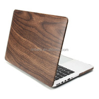 New Arrival Hot Sale Real Wood Wooden Case for MacBook Air 11.6 13.3 Pro 13 15 Retina 12 Inch Cover