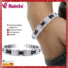 8.5Inches Heavy Solid silicone anti mosquito wristband
