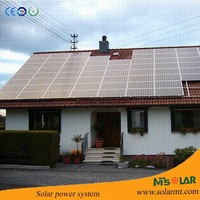 Whole home solar system 2kw power with high quality solar panel