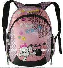 2012 Hot sell fashion college bags girls with high quality