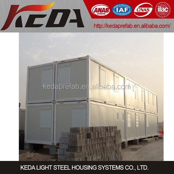 Low Cost Prefabricated Home Container House Combined Office Building