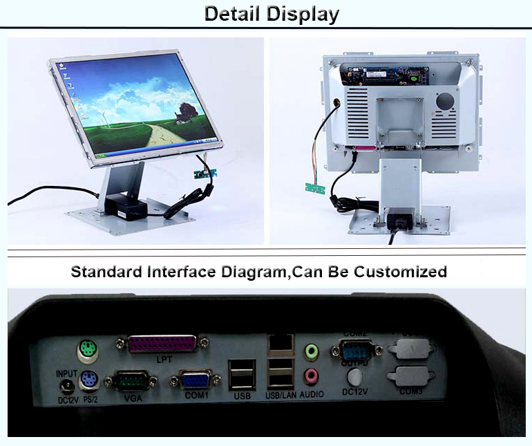 Cheap 15 Inch Fanless Pos Machine Price / Pos System Price,Pos Touch Screen For Kiosk