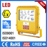 LED Non Explosive Light, Explosion Proof Lamp ATEX, IECEX Certificate IP66 Zone 1 Zone 2 Oil Gas Industry, Refinery, Chemical