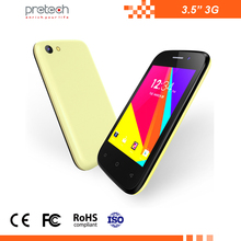 "Cheapest best 3.5 inch OEM dual sim gps card wifi BT FM Android OS 3.5inch android 3G smartphone 3.5"" mobile phone"