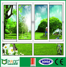 4 Panel White Sliding Window with Factory Price