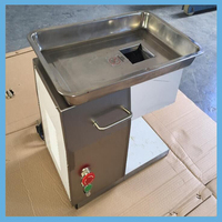 Full Automatic Industrial Frozen/Fresh Meat Cutter Made Of Stainless Steel For Beef/Mutton Cutting