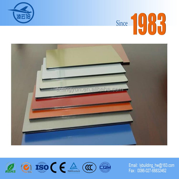 Color Variety PVDF Coating Plastic Design Wall ACP